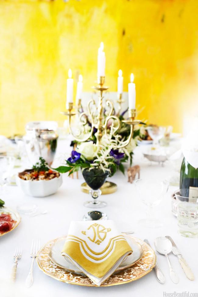 10 ý tưởng trang trí bàn ăn ngày Valentine vô cùng lãng mạn - Ảnh 8.