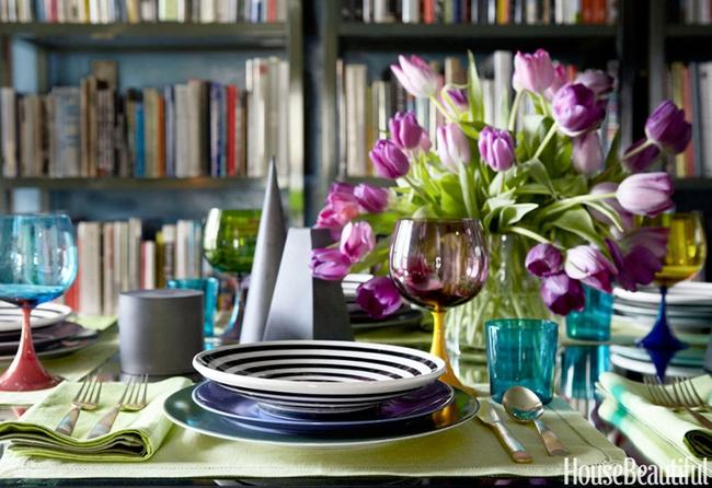 10 ý tưởng trang trí bàn ăn ngày Valentine vô cùng lãng mạn - Ảnh 9.