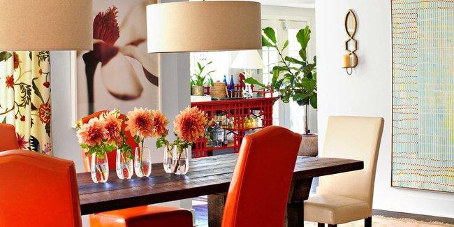 Ghé thăm ngôi nhà rực rỡ sắc màu của mùa Xuân - Ảnh 3.