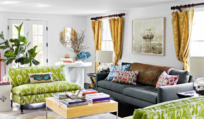 Ghé thăm ngôi nhà rực rỡ sắc màu của mùa Xuân - Ảnh 7.