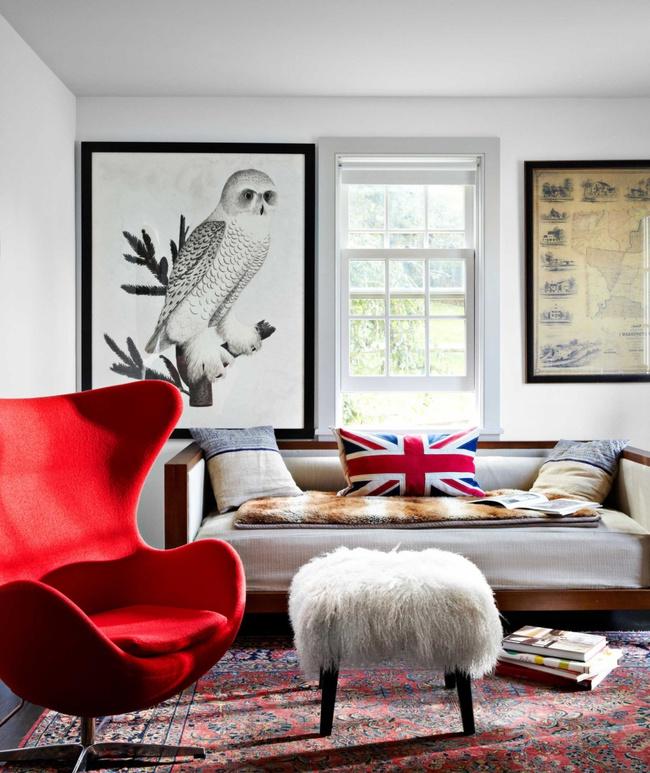 Ghé thăm ngôi nhà rực rỡ sắc màu của mùa Xuân - Ảnh 9.