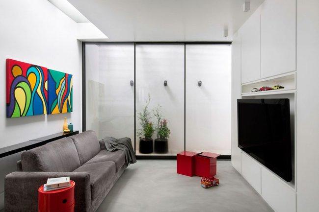 Ngôi nhà có thiết kế hoàn hảo dành cho các cô nàng độc thân - Ảnh 6.