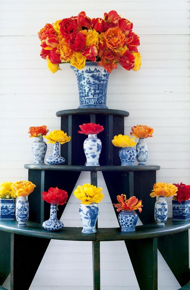 17 ý tưởng cắm hoa trang trí nhà đẹp phát hờn - Ảnh 1.