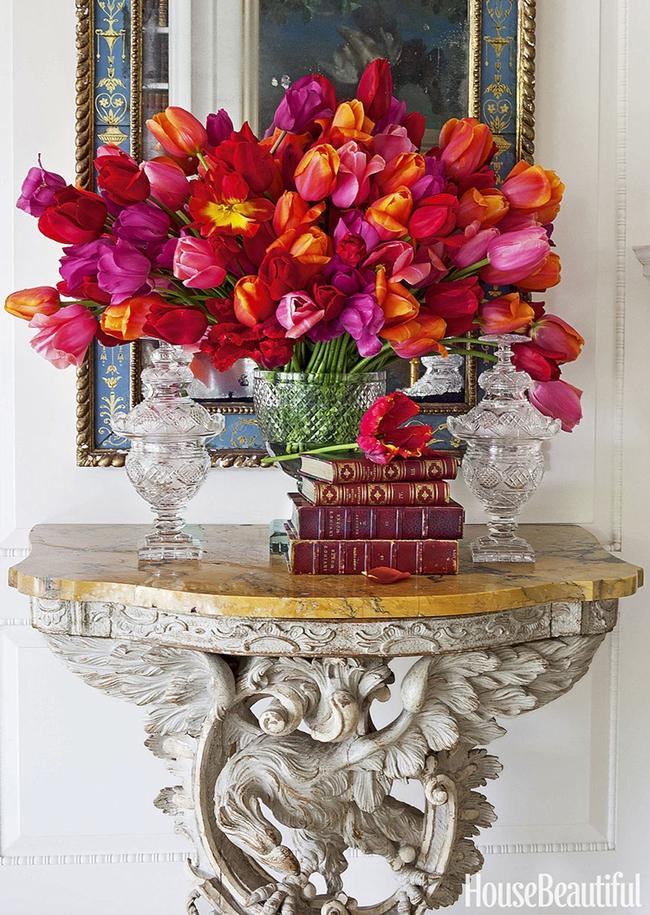 17 ý tưởng cắm hoa trang trí nhà đẹp phát hờn - Ảnh 2.