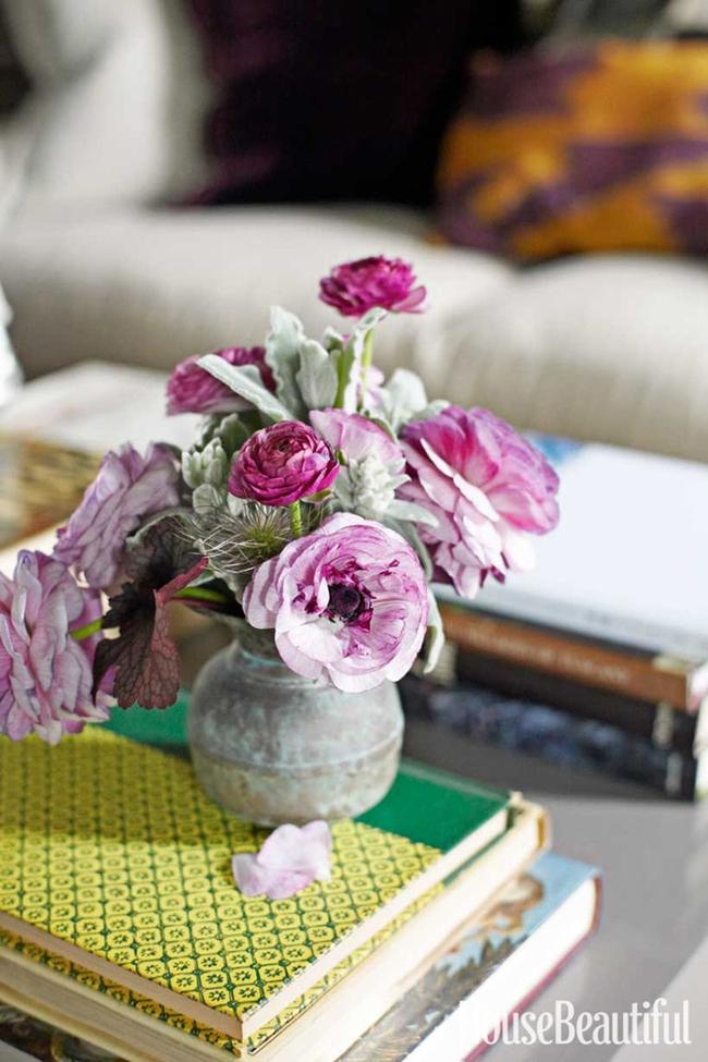 17 ý tưởng cắm hoa trang trí nhà đẹp phát hờn - Ảnh 3.