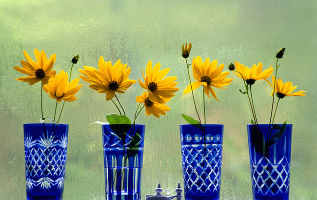 17 ý tưởng cắm hoa trang trí nhà đẹp phát hờn - Ảnh 9.