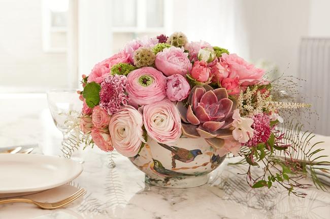 17 ý tưởng cắm hoa trang trí nhà đẹp phát hờn - Ảnh 14.