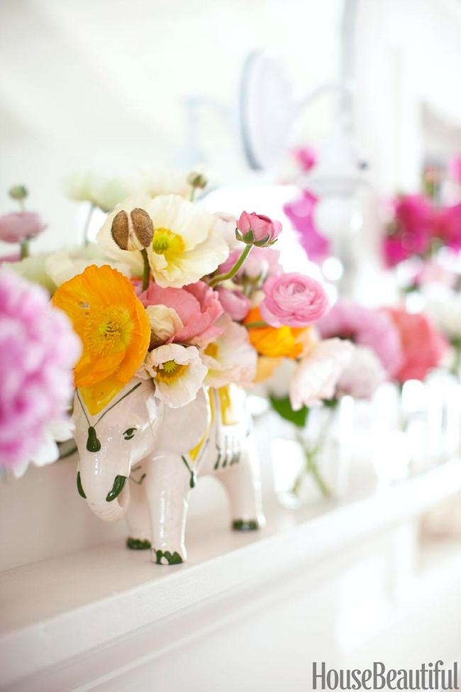 17 ý tưởng cắm hoa trang trí nhà đẹp phát hờn - Ảnh 17.
