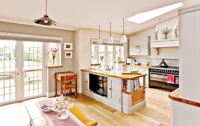 20 ý tưởng thiết kế phòng bếp kiểu mở nhìn là muốn học theo - Ảnh 3.