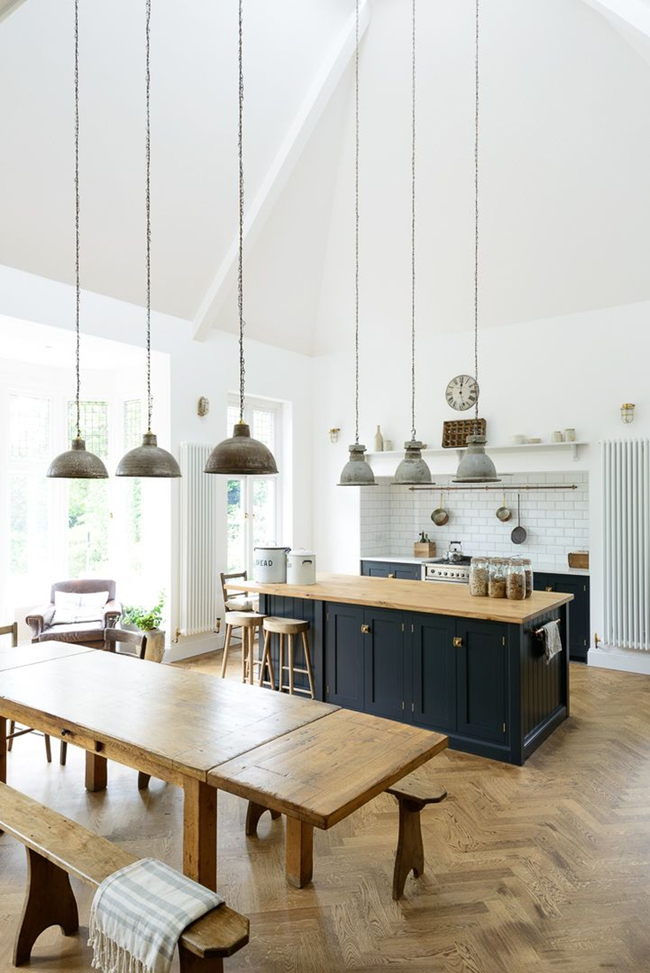 20 ý tưởng thiết kế phòng bếp kiểu mở nhìn là muốn học theo - Ảnh 6.
