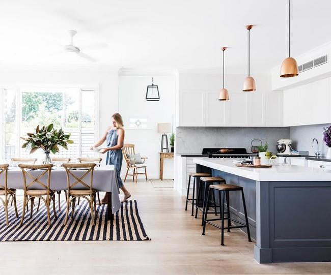 20 ý tưởng thiết kế phòng bếp kiểu mở nhìn là muốn học theo - Ảnh 7.