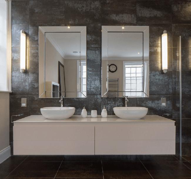 6 mẹo không thể chuẩn hơn giúp bạn chọn gương cho phòng tắm dễ dàng - Ảnh 1.