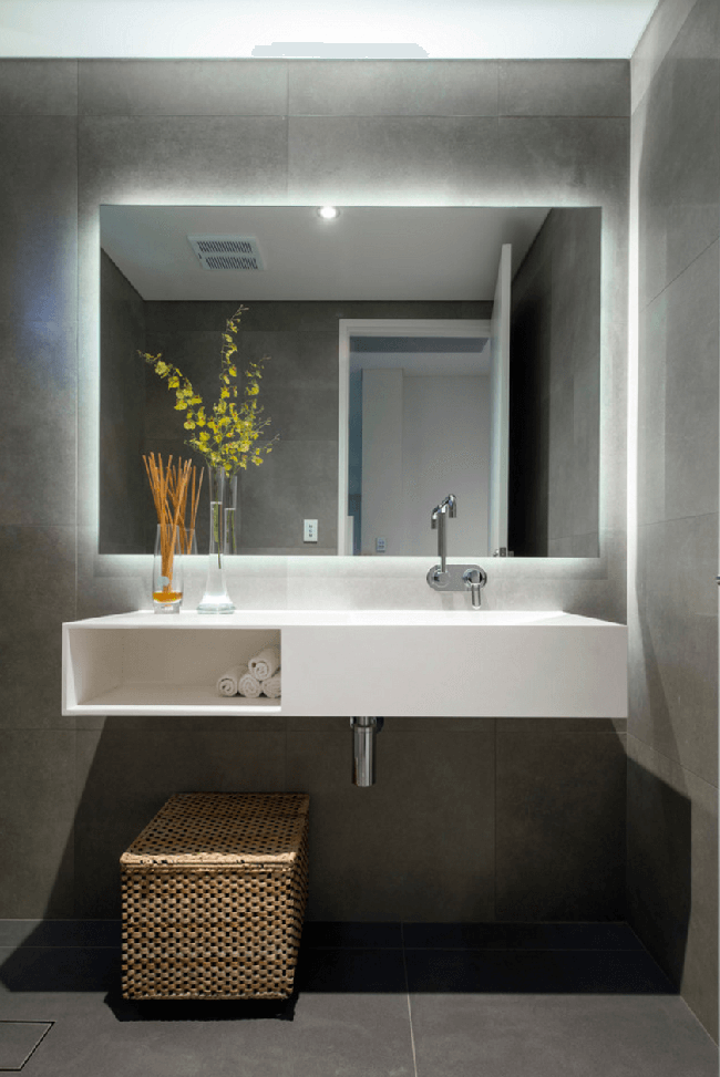 6 mẹo không thể chuẩn hơn giúp bạn chọn gương cho phòng tắm dễ dàng - Ảnh 5.
