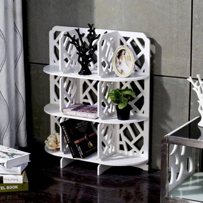 11 mẫu kệ lưu trữ giúp không gian sống của bạn chuẩn gọn như trong khách sạn - Ảnh 8.