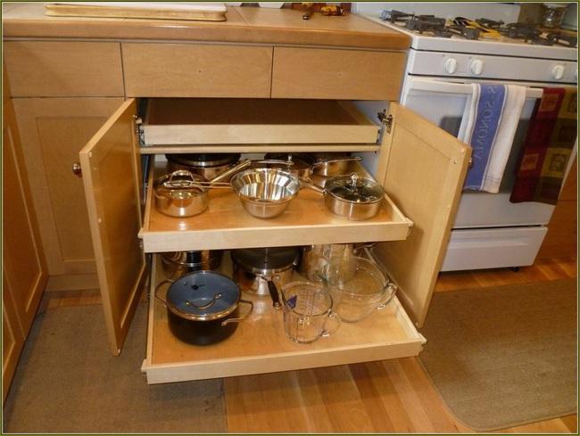8 mẹo vặt giúp đồ dùng nhà bếp luôn gọn gàng và ngăn nắp - Ảnh 5.