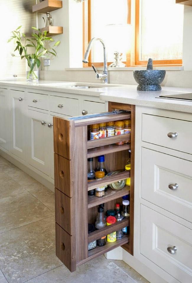 8 mẹo vặt giúp đồ dùng nhà bếp luôn gọn gàng và ngăn nắp - Ảnh 8.