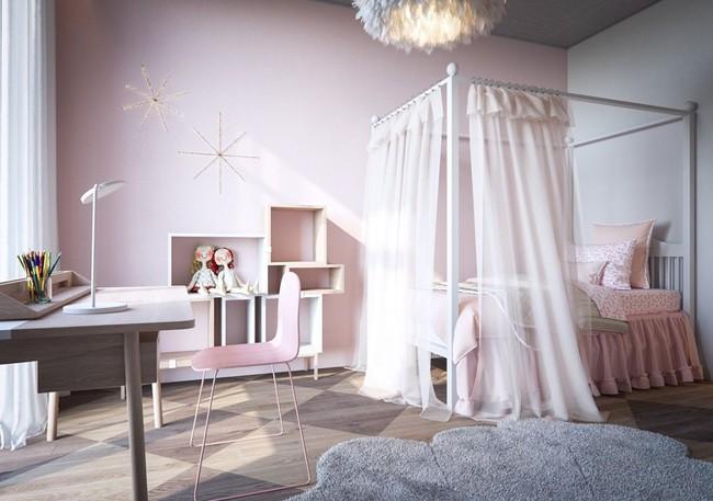 9 mẫu phòng ngủ cho bé đẹp không tì vết khiến người lớn cũng phải ghen tị - Ảnh 12.