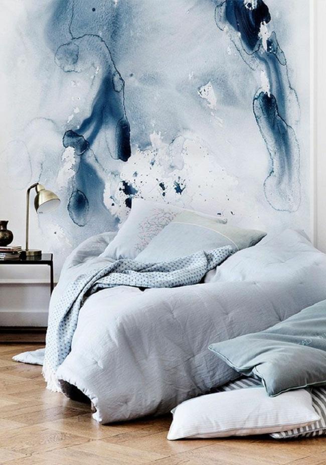 Bạn sẽ có một phòng ngủ thật phong cách nếu biết những cách sơn tường này - Ảnh 2.