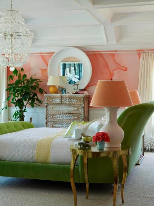 Bạn sẽ có một phòng ngủ thật phong cách nếu biết những cách sơn tường này - Ảnh 3.