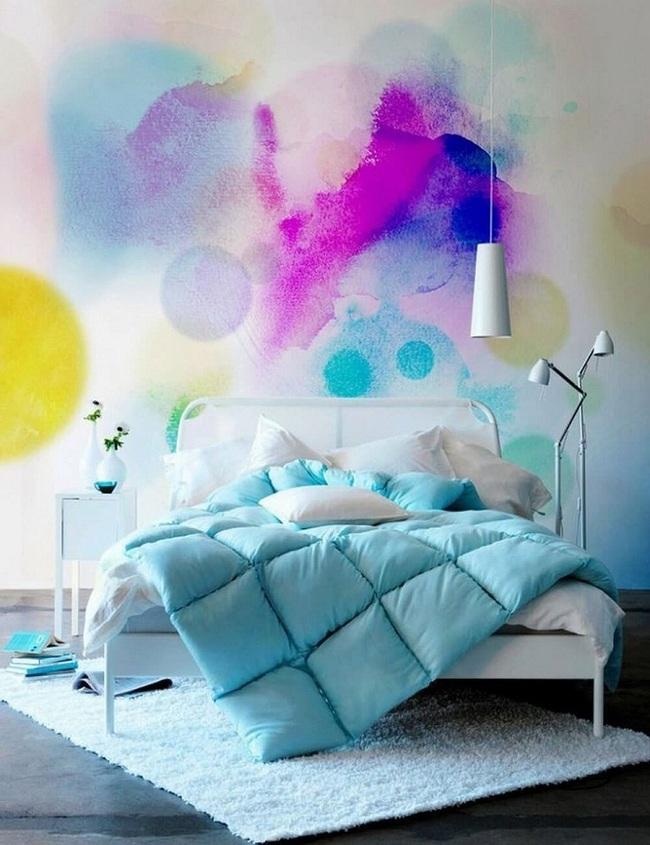 Bạn sẽ có một phòng ngủ thật phong cách nếu biết những cách sơn tường này - Ảnh 4.
