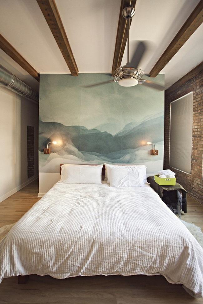 Bạn sẽ có một phòng ngủ thật phong cách nếu biết những cách sơn tường này - Ảnh 10.
