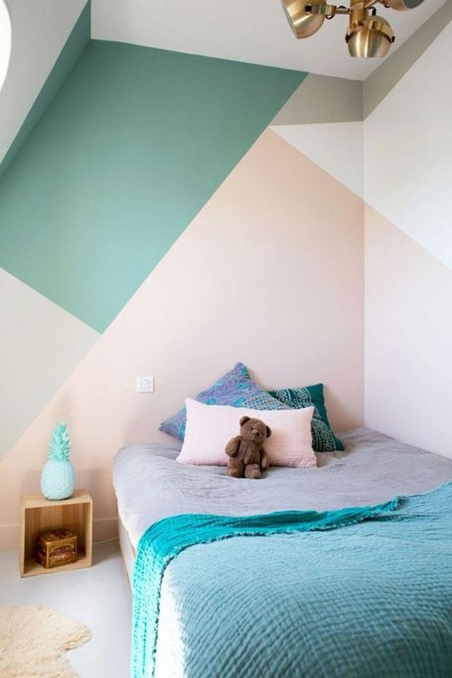 Bạn sẽ có một phòng ngủ thật phong cách nếu biết những cách sơn tường này - Ảnh 11.
