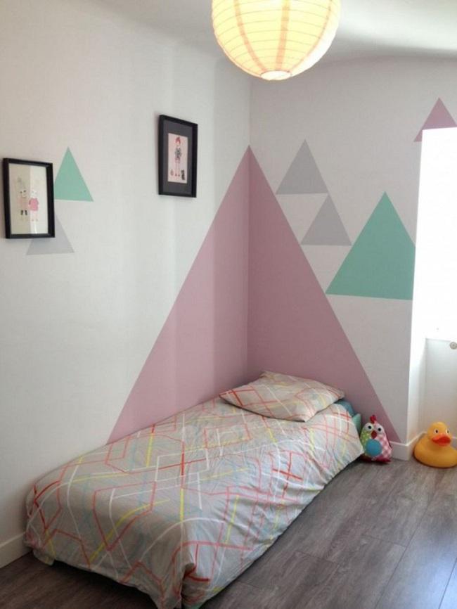 Bạn sẽ có một phòng ngủ thật phong cách nếu biết những cách sơn tường này - Ảnh 12.