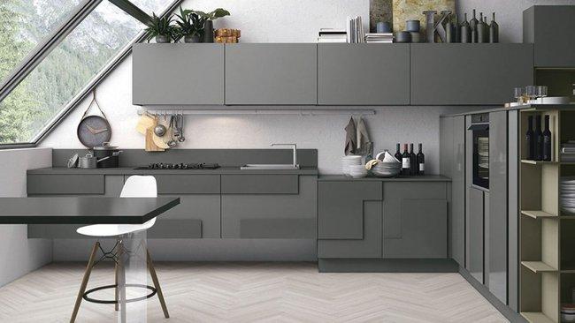 22 mẫu thiết kế phòng bếp màu xám ngỡ nhàm chán mà lại đẹp không tưởng - Ảnh 15.