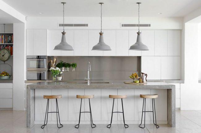 22 mẫu thiết kế phòng bếp màu xám ngỡ nhàm chán mà lại đẹp không tưởng - Ảnh 19.