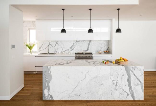 22 mẫu thiết kế phòng bếp màu xám ngỡ nhàm chán mà lại đẹp không tưởng - Ảnh 21.