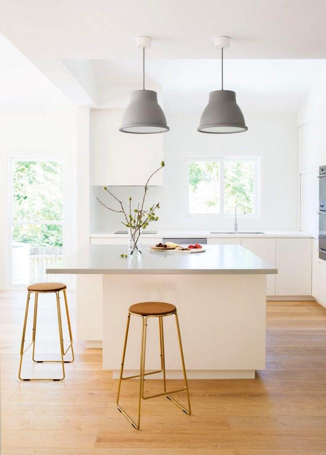 22 mẫu thiết kế phòng bếp màu xám ngỡ nhàm chán mà lại đẹp không tưởng - Ảnh 22.