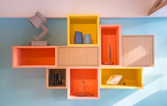 Căn hộ nhỏ được cải tạo thêm gác xép chuẩn không cần chỉnh cho vợ chồng trẻ - Ảnh 2.