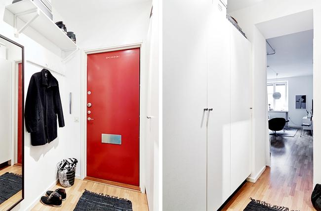 Căn hộ chỉ 10m² nhưng được bố trí nội thất chuẩn nên vẫn đẹp lung linh - Ảnh 1.