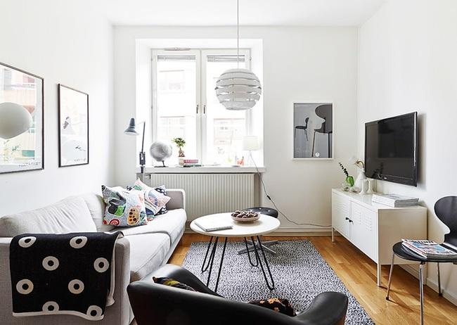 Căn hộ chỉ 10m² nhưng được bố trí nội thất chuẩn nên vẫn đẹp lung linh - Ảnh 2.