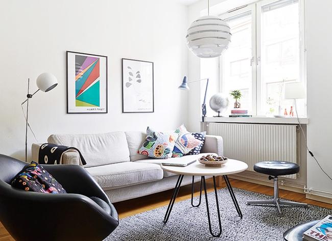 Căn hộ chỉ 10m² nhưng được bố trí nội thất chuẩn nên vẫn đẹp lung linh - Ảnh 3.