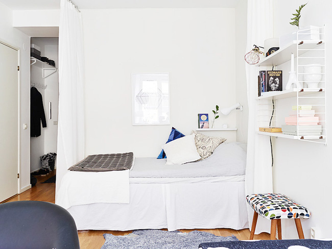 Căn hộ chỉ 10m² nhưng được bố trí nội thất chuẩn nên vẫn đẹp lung linh - Ảnh 4.