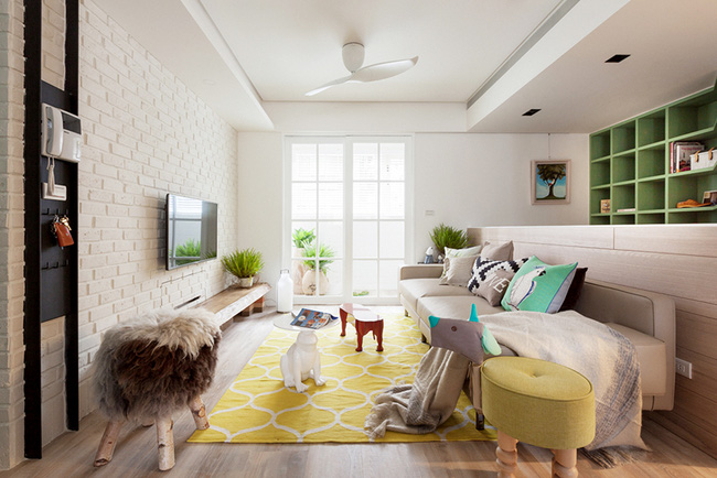Căn hộ 25m² với cách bố trí nội thất đẹp không có chỗ chê - Ảnh 1.