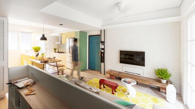 Căn hộ 25m² với cách bố trí nội thất đẹp không có chỗ chê - Ảnh 3.