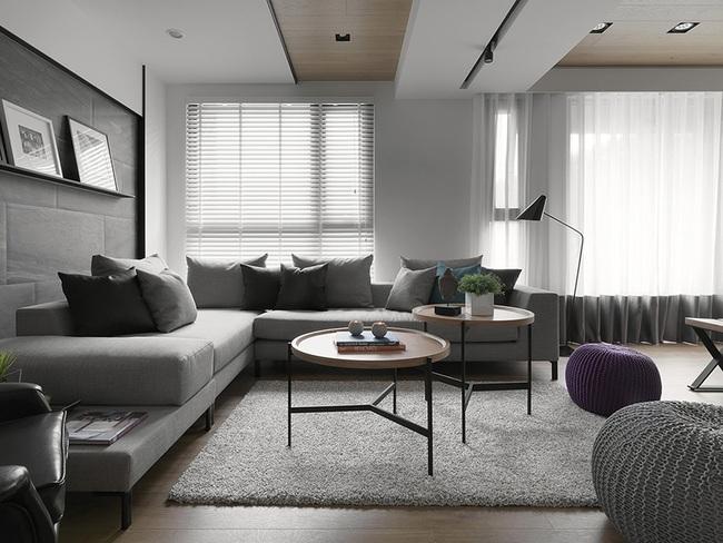 Ngỡ ngàng với cách chọn màu trung tính khiến căn hộ nhỏ trở nên đẹp thanh lịch và cá tính - Ảnh 1.