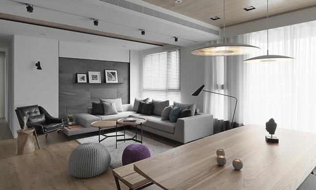Ngỡ ngàng với cách chọn màu trung tính khiến căn hộ nhỏ trở nên đẹp thanh lịch và cá tính - Ảnh 3.