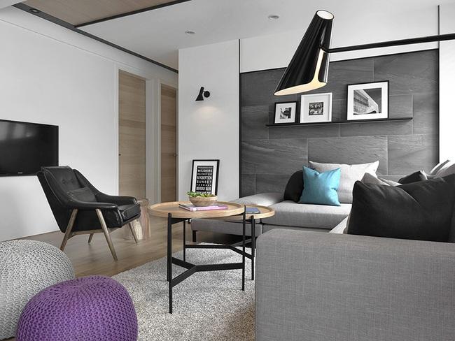 Ngỡ ngàng với cách chọn màu trung tính khiến căn hộ nhỏ trở nên đẹp thanh lịch và cá tính - Ảnh 5.