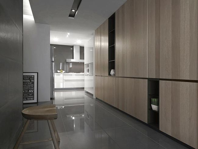 Ngỡ ngàng với cách chọn màu trung tính khiến căn hộ nhỏ trở nên đẹp thanh lịch và cá tính - Ảnh 9.