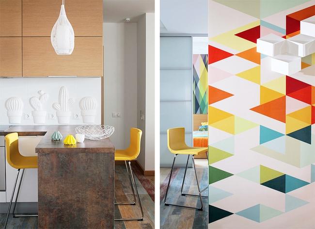 Cách sử dụng màu sắc giúp căn hộ vỏn vẹn 25m² này đẹp đến bất ngờ - Ảnh 9.