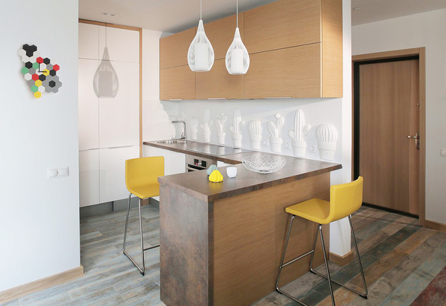 Cách sử dụng màu sắc giúp căn hộ vỏn vẹn 25m² này đẹp đến bất ngờ - Ảnh 10.