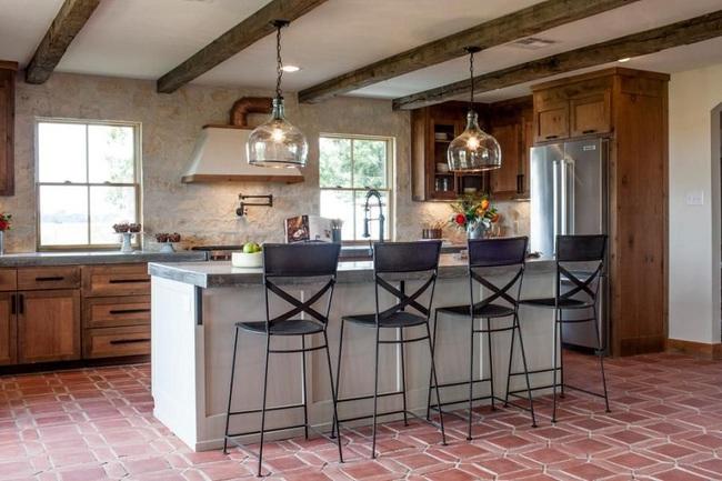 3 chất liệu tốt nhất các chuyên gia khuyên dùng cho nhà bếp theo phong cách đồng quê - Ảnh 2.