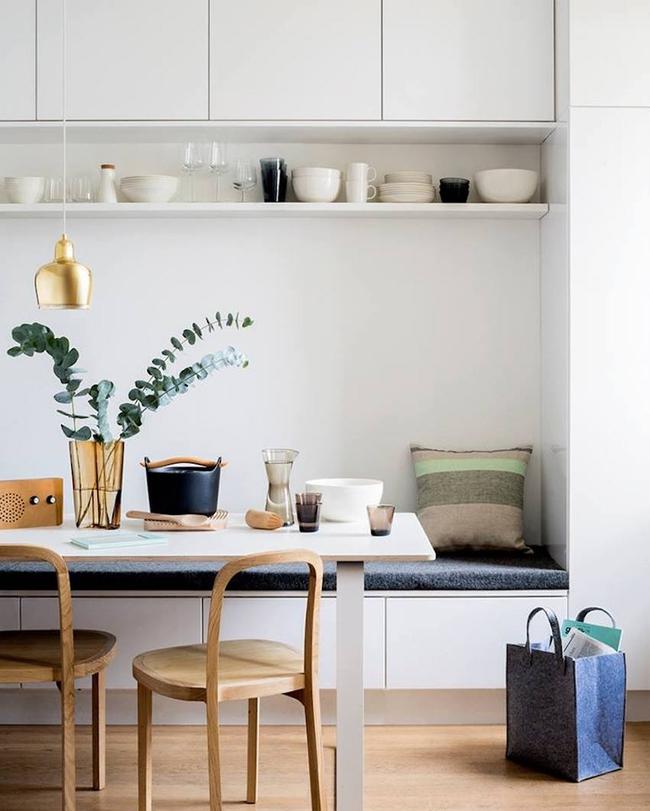 29 mẫu bàn ghế ăn khiến phòng ăn nhà bạn từ nhỏ hóa rộng thênh thang   - Ảnh 3.