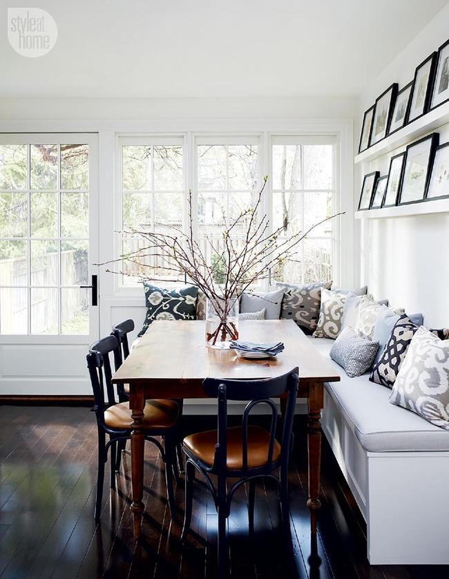 29 mẫu bàn ghế ăn khiến phòng ăn nhà bạn từ nhỏ hóa rộng thênh thang   - Ảnh 4.