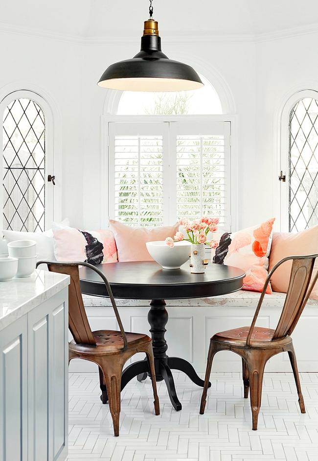 29 mẫu bàn ghế ăn khiến phòng ăn nhà bạn từ nhỏ hóa rộng thênh thang   - Ảnh 13.