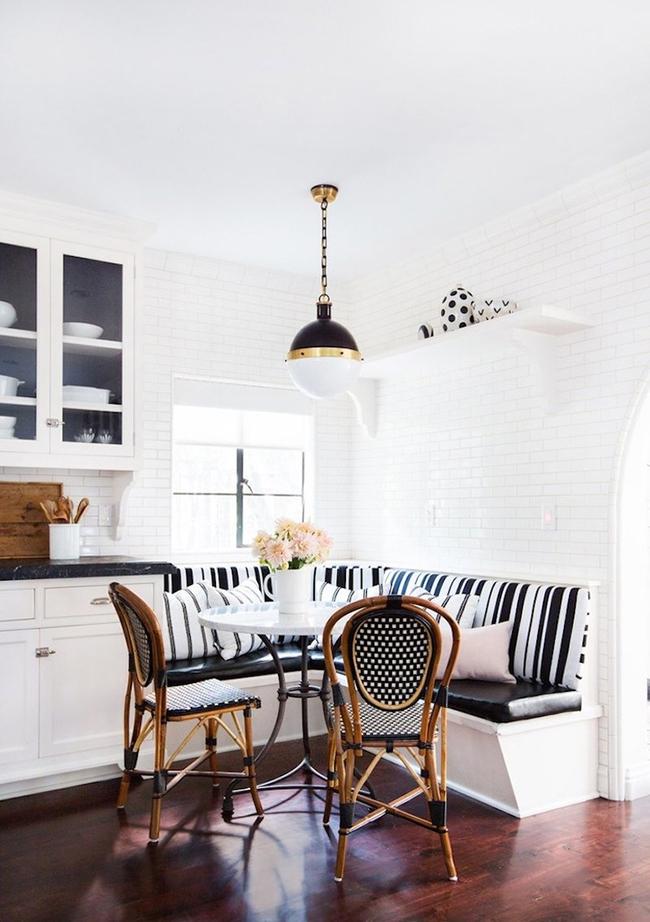 29 mẫu bàn ghế ăn khiến phòng ăn nhà bạn từ nhỏ hóa rộng thênh thang   - Ảnh 14.