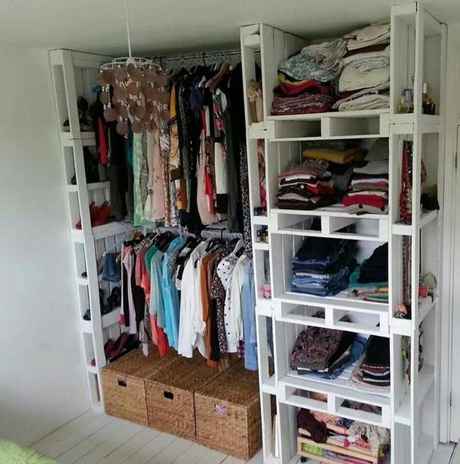Những mẫu tủ quần áo giúp phòng của bé luôn gọn gàng và đẹp đẽ - Ảnh 1.
